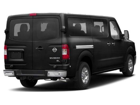 Nissan Passenger Van >> 2019 Nissan Nv Passenger Sl